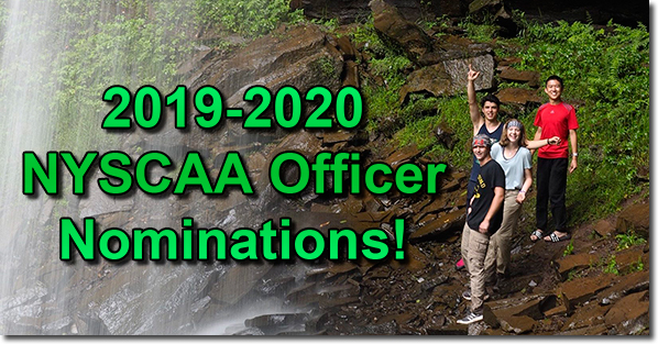 2019-2020 NYSCAA Officer Nominations